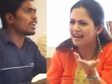 VJ Archana gets trolled by Pa. Ranjith and Venkat Prabhu | Throwback prank video
