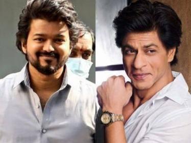 bollywood super star shah rukh khan viral tweet about thalapathy vijay