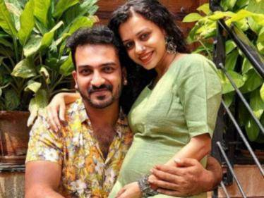 CONGRATULATIONS: Kannada TV couple Raghu and Amrutha welcome their first child, a baby girl - Tamil Movies News