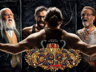 Chiyaan Vikram resumes shooting for Cobra | Ajay Gnanamuthu | A. R. Rahman