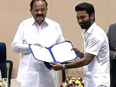 Dhanush receives his second NATIONAL FILM AWARD for Best Actor | Awarding VIDEO here! - Tamil Cinema News