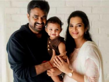 Director A. L. Vijay son's first birthday celebration photos go viral - wishes pour in! - Tamil Cinema News