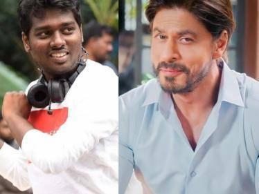 Director Atlee's film with Shah Rukh Khan tentatively titled LION - Final title yet to be locked! - Tamil Cinema News
