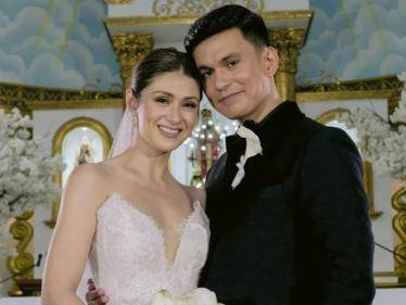 Filipino star couple and Carla Abellana Tom Rodriguez tie the knot - VIRAL WEDDING PICS! - Tamil Cinema News