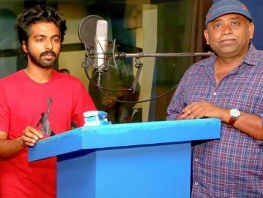 GV Prakash begins dubbing for his next, Idimuzhakkam | Seenu Ramasamy
