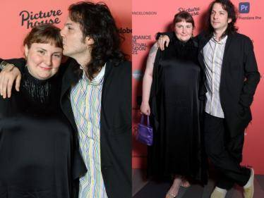 Girls TV series actress Lena Dunham gets married to musician Luis Felber in an intimate wedding ceremony - Tamil Cinema News