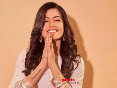 Google declares Rashmika Mandanna as the National Crush of India