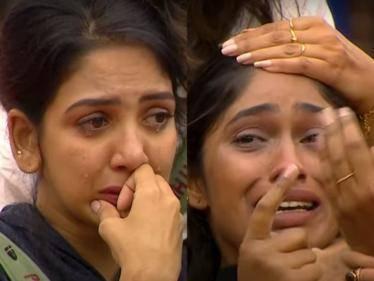 HEARTBREAKING: Pavani Reddy and Sruthi Jeyadevan in uncontrollable tears | Emotional Bigg Boss 5 promo - Tamil Cinema News