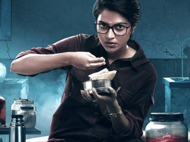 Here is the intriguing first look of Amala Paul's Cadaver | Check Out! - Tamil Cinema News