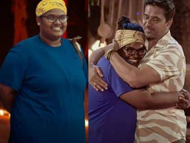 Indraja Sankar's first emotional statement after getting evicted from Survivor Tamil! - Tamil Cinema News
