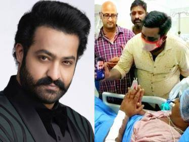 Jr. NTR's fan gets injured in an accident, RRR actor video calls and arranges for medical treatment - Tamil Cinema News