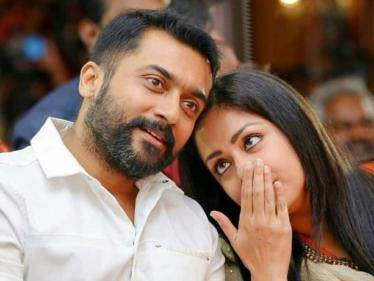Jyothika's special surprise for Suriya at Etharkkum Thunindhavan shooting spot - Check out! - Tamil Cinema News