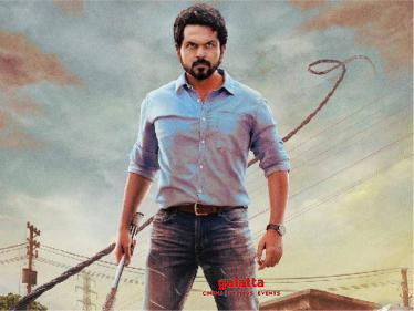 Sulthan first look poster - Big treat for Karthi's fans | Rashmika Mandanna