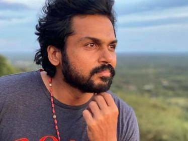 Karthi shoots in Madurai after 14 long years - exciting update on Viruman! - Tamil Cinema News