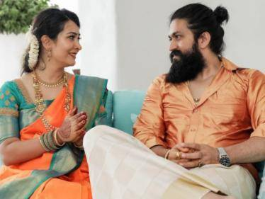 kgf actor yash new house opening ceremony trending photos here
