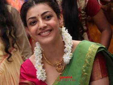 Latest important update on Kajal Aggarwal's next Tamil film - Check Out!
