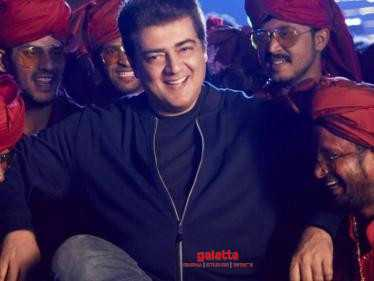 MASS GLIMPSE: Check out the newly released HD Pictures of Ajith's Valimai - Vera Maari!