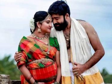 Malayalam serial actor Niranjan Nair to become a father soon - PICS GO VIRAL! - Tamil Cinema News