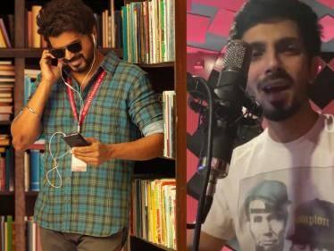 master the blaster song anirudh version new video thalapathy vijay