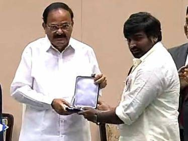 National Film Awards 2021: Vijay Sethupathi receives Best Supporting Actor award - Proud moment for Tamil Cinema! - Tamil Movies News