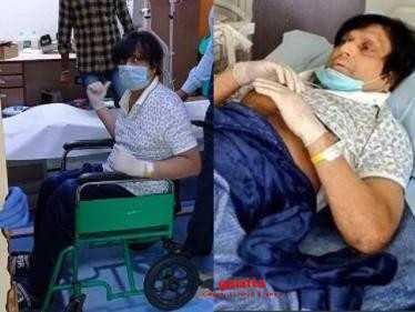 Navarasa Nayagan Karthik gets injured - admitted to hospital for surgery | Official Statement here!
