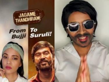 Netflix's special Jagame Thandhiram transformation video   Dhanush   Karthik Subbaraj - Tamil Cinema News
