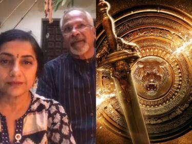 Ponniyin Selvan massive shooting moments by Suhasini Mani Ratnam - NEW VIRAL PHOTOS!