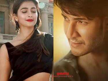 Pooja Hegde officially signed as the female lead for Mahesh Babu's next! - Telugu Movies News