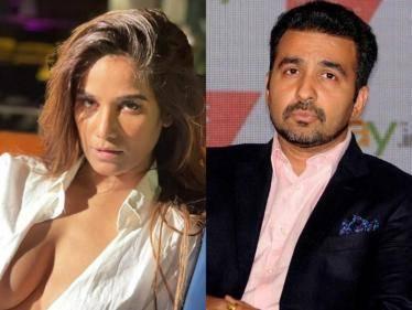Poonam Pandey accuses Shilpa Shetty's husband Raj Kundra of leaking her phone number online - Tamil Cinema News