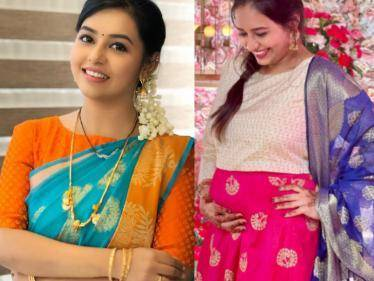 Popular Tamil serial actress Vanitha Hariharan announces pregnancy - wishes pour in!