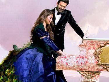 Prabhas - Pooja Hegde starrer Radhe Shyam: New Classy Poster Unveiled! - Tamil Cinema News