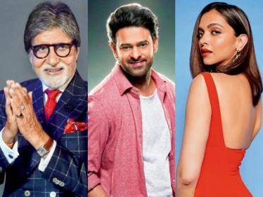 Prabhas' sci-fi movie with Amitabh Bachchan and Deepika Padukone begins rolling - First glimpse revealed!