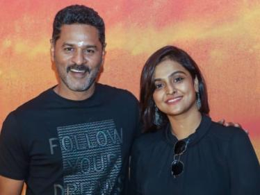 Prabhu Deva's next with Manjapai director, Remya Nambeesan and D. Imman on board