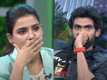 Rana Daggubati reveals how he could have died last year, breaks down in tears on Samantha's show