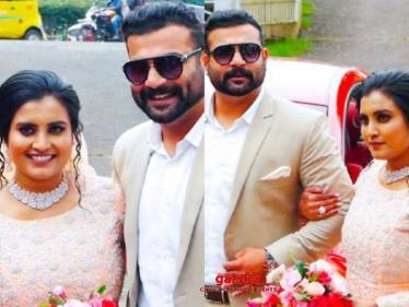 Oru Adaar Love actress Roshna Ann Roy and actor Kichu Tellus get married, wedding pics go viral!