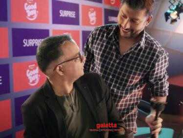 SURPRISE: Gautham Menon and RJ Balaji join hands - Trending Promo Video here!