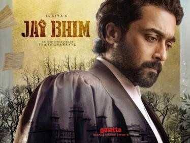Suriya 39 titled Jai Bhim - check out the interesting first look poster here! - Tamil Cinema News