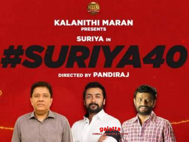 Director Pandiraj's important statement on Suriya 40's cast and crew   Sun Pictures