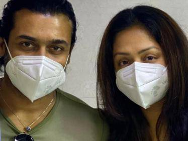 Suriya and Jyothika's new message to fans - latest photos go viral!
