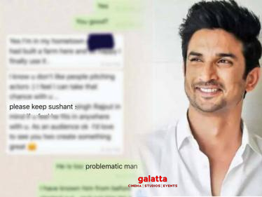 Sushant is too problematic: Bollywood director Anurag Kashyap posts WhatsApp chat screenshots