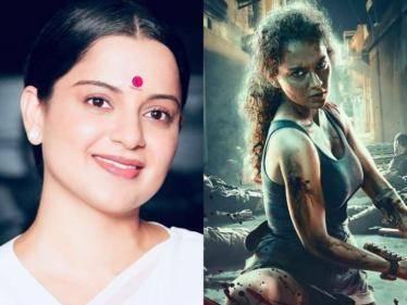 Thalaivi heroine Kangana Ranaut's weight loss transformation for Dhaakad - VIRAL PIC!