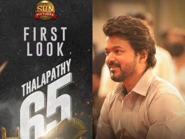 Thalapathy 65 Semma Mass Title & First Look ANNOUNCED - Check out!