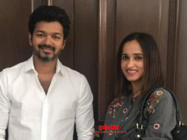 Producer Archana Kalpathi gets emotional about one year of Bigil audio launch!
