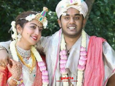 This popular Tamil film actress gets married - fans taken by surprise   Wedding pictures here! - Tamil Cinema News