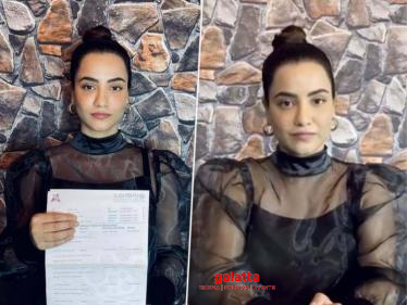 Bollywood actress Tia Bajpai shares voluntary drug test report, Urges film industry to do the same - Hindi Cinema News