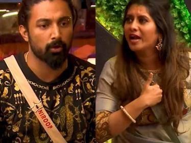 UNEXPECTED: Fight between VJ Priyanka and Niroop | New trending Bigg Boss 5 Promo - Tamil Cinema News