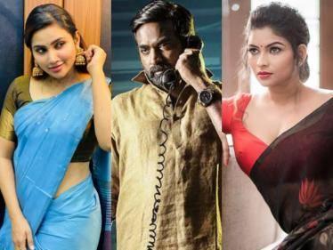 VJ Maheswari and Myna Nandhini paired with Vijay Sethupathi in VIKRAM after Shivani - MASSIVE! - Tamil Cinema News