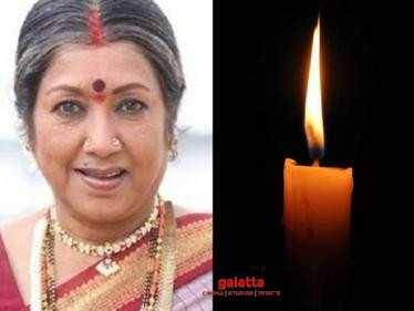 Veteran actress Jayanthi passes away at the age of 76 - film industry in mourning! - Kannada Movies News