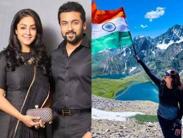 WOW: Jyothika makes her social media debut on Instagram - Suriya's wishes go viral! - Tamil Cinema News