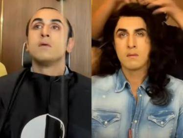 WOW: Ranbir Kapoor's stunning transformation as a woman for an ad film shoot - VIRAL VIDEO! - Tamil Movies News